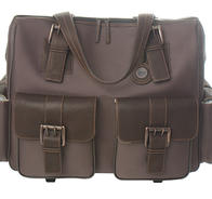Jack brown rolling satchel