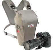 SLR Telephoto Chest pack - GREY