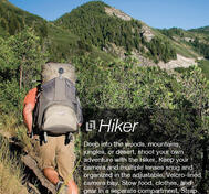 Hiker 65 + Clikstand grey