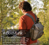 BodyLink Telephoto Pack - Grey
